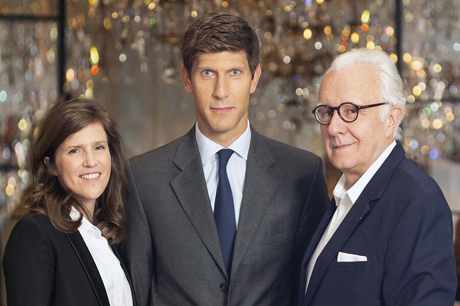 Elise Masurel DG de l'Ecole Ducasse Benoit-Etienne Domenget CEO et Président et Alain Ducasse -(c) Thierry Arensma
