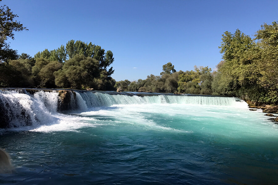 Ressourçantes,Les chutes de Belek à Antalya (c) GAD