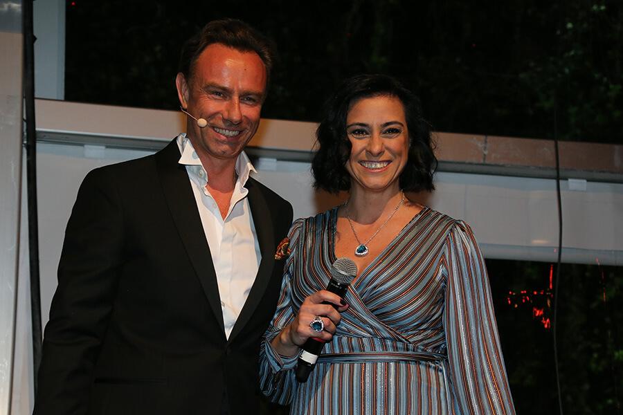 Quentin Desurmont avec Carla Xavier co-propiétaire de Lounge Lurury Travel Portugal