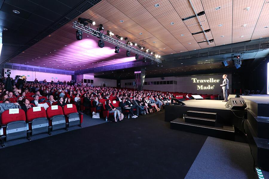Marbella 2019 Salle de conférence en attendant les intervenants