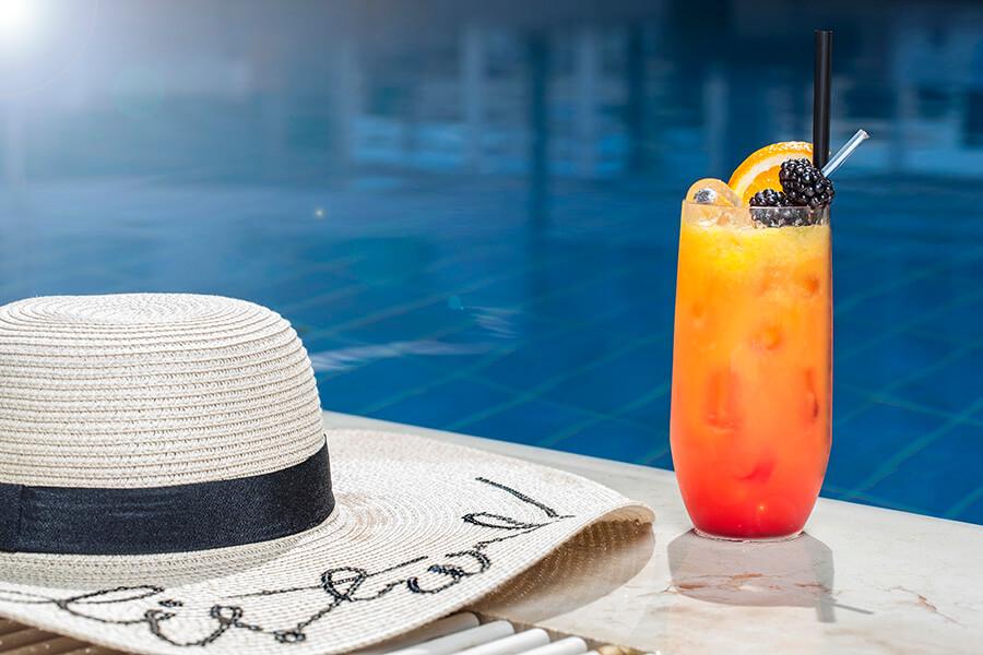 Le Pool Garden du Président Wilson prend des airs de Côte d'Azur