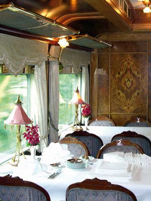 L'Elégant wagon restaurant