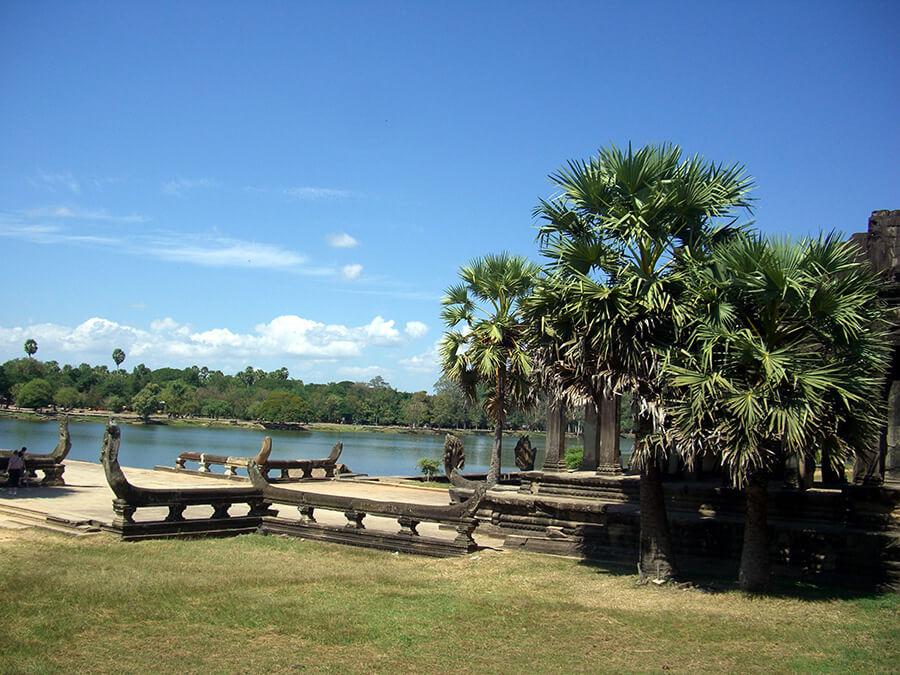 Angkor Vat l'ensemble s'étend sur 400km2