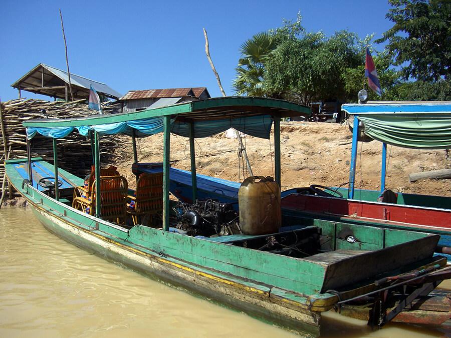 Siem Reap Embarcation sur lac Tonlé Sap