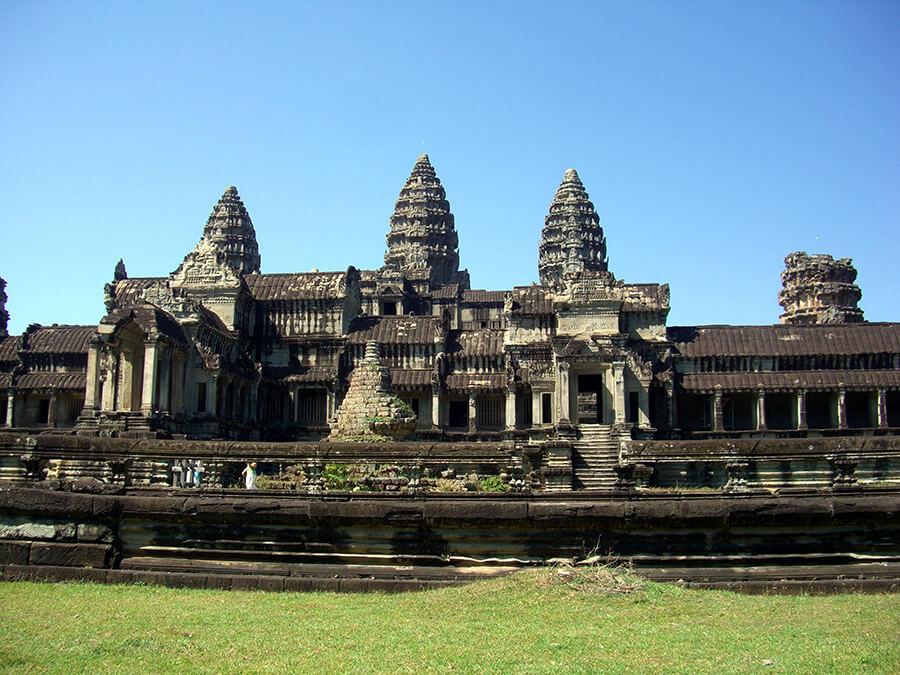 Angkor Vat des edifices érigés à la gloire des dieux et des rois