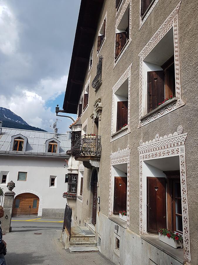 Perspective sur un quartier de maisons traditionnelles (c)GAD