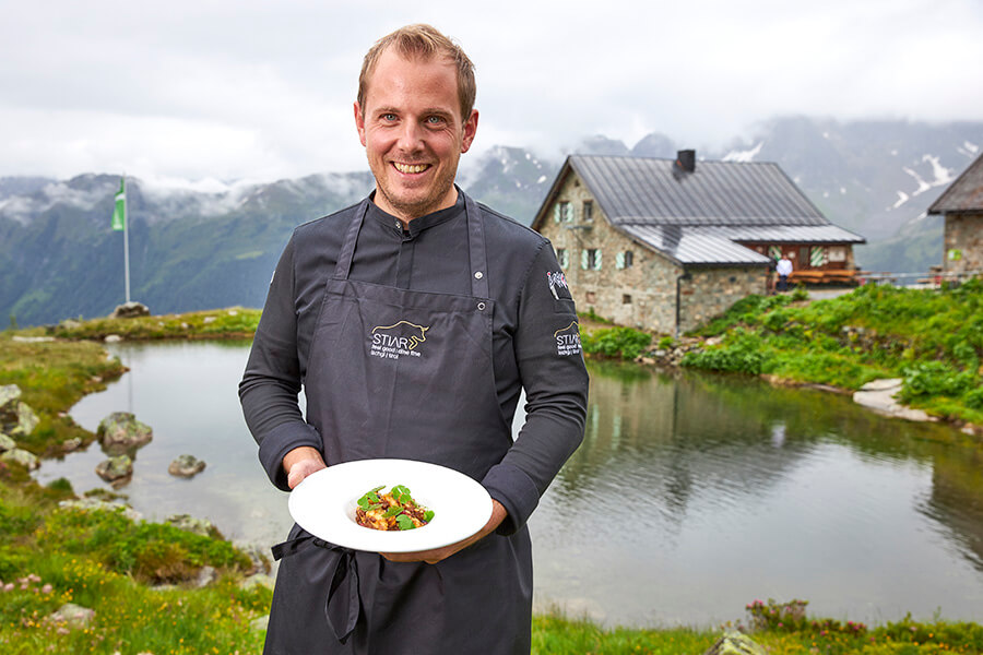 Gunther Döberl Chef du Stiar à Ischgl au Heidelberger hütte (c) TVB Paznaun - Ischg