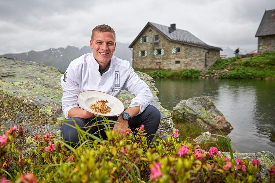 Benjamin Parth Chef du Stüva à Ischgl le cuisinier le plus primé (c) TVB Paznaun - Ischgl