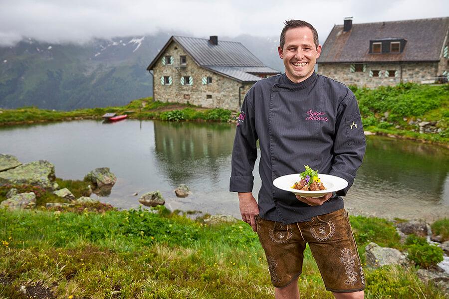 Andreas Spitzer Chef du Fliana Gourmet à Ischgl (c) TVB Paznaun - Ischg