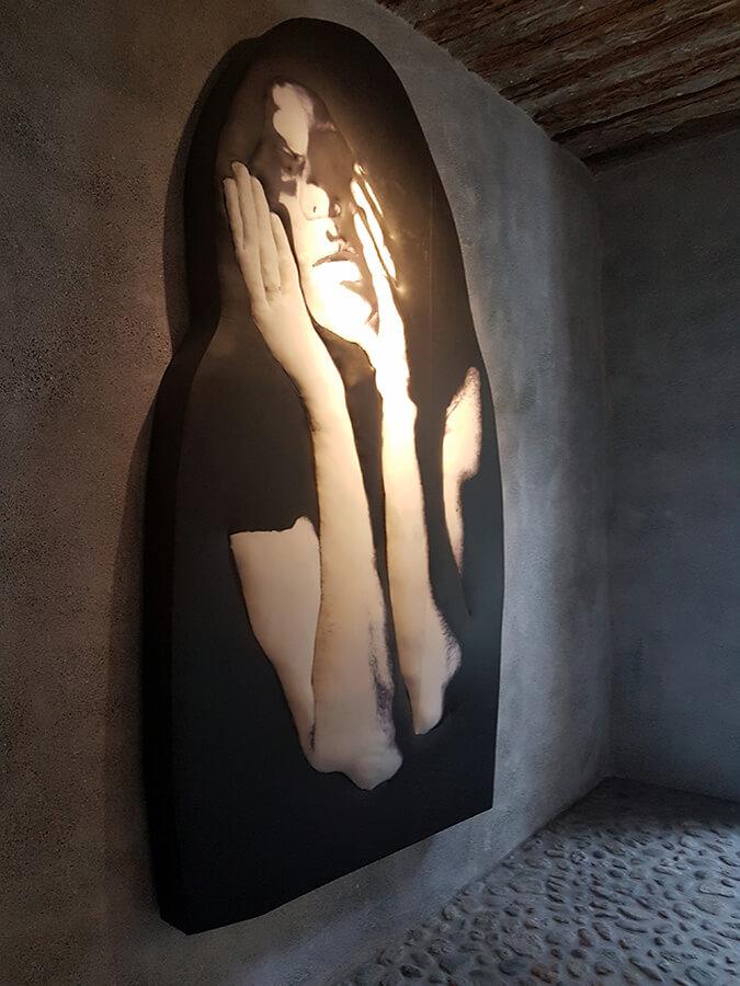 Le Musée Susch donne à la Femme une place importante Isabella Gustowska Black Dreams (c) GAD