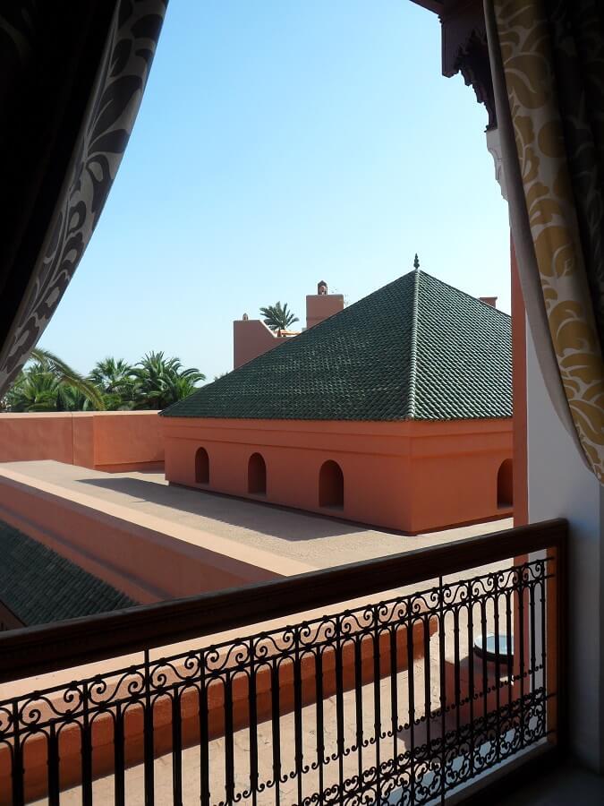 Vue sur Marrakech depuis le Royal Mansour (c) GAD