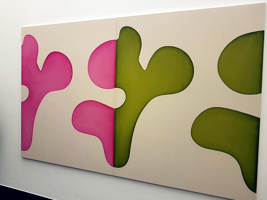 Galerie Von Bartha oeuvre de Landon Metz sans titre (c) GAD