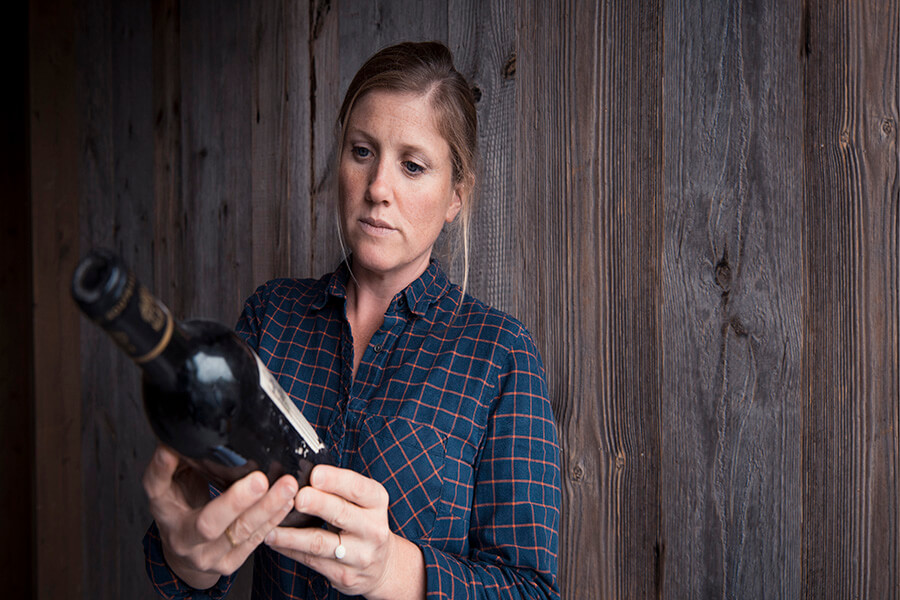Co-fondatrice de Baghera wines Julie Carpentier