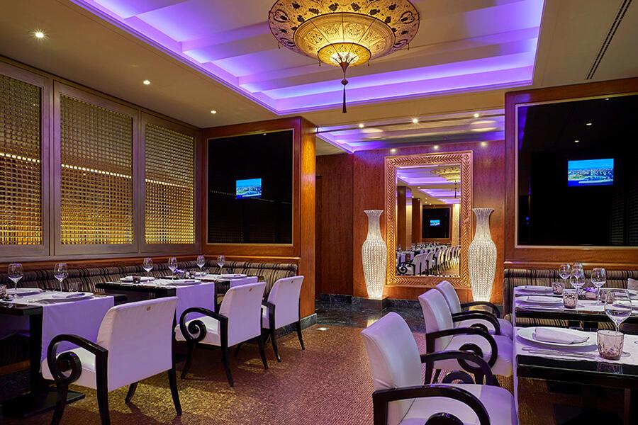 Arabesque le restaurant libanais de l'Hôtel Président Wilson Genève