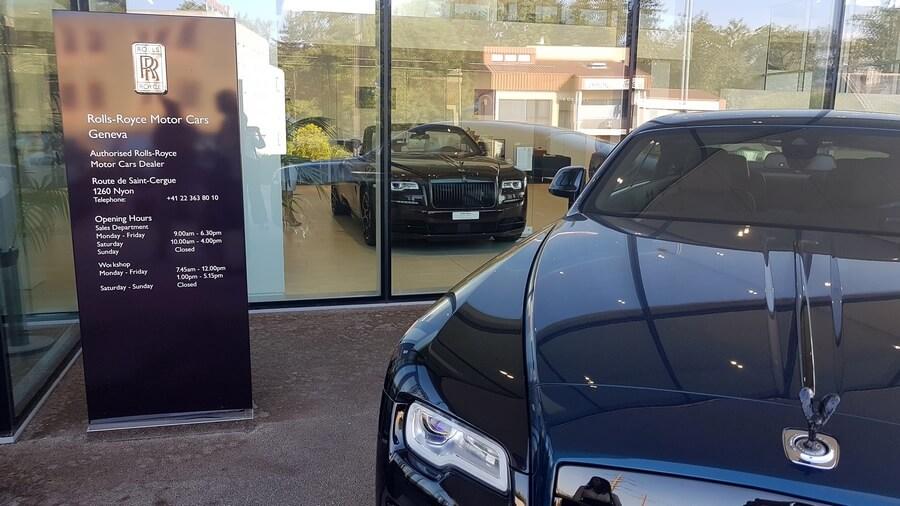 Aperçu sur l'exposition Rolls-Royce
