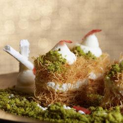 Cheveux d'ange et pistaches, un desset qui remonte aux Ottomans
