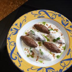 Les succulents kebbés ras au yogourt Restaurant Arabesque