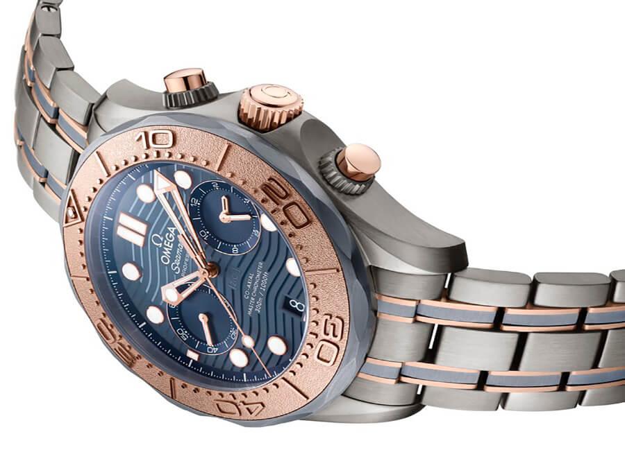 Or, titane, tantale une fabuleuse alliance de matériaux en exclusivité pour OMEGA Seamaster Diver 300M