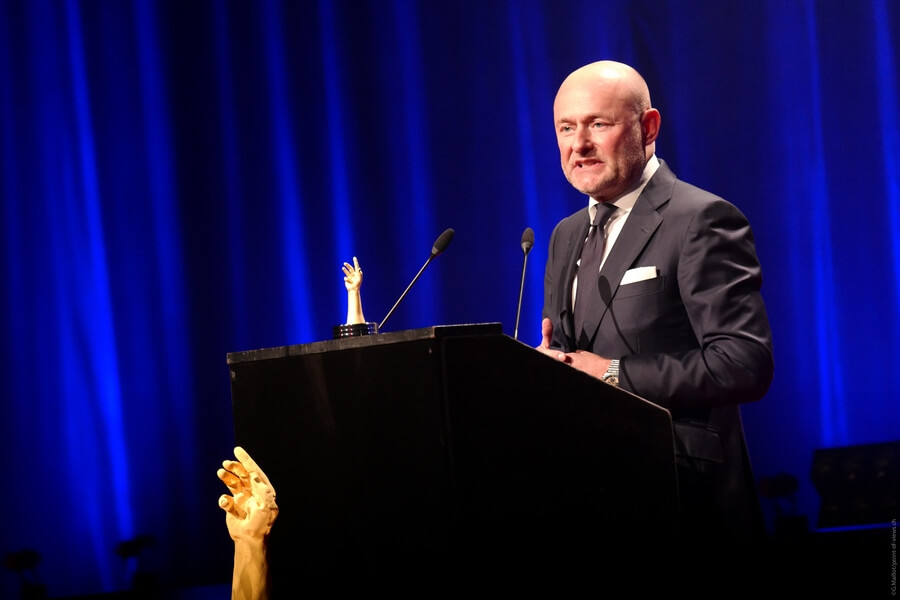Georges Kern CEO de Breitling 2 fois lauréat pour la Petite Aiguille et la Montre de Plongée (c) point-of-views-ch