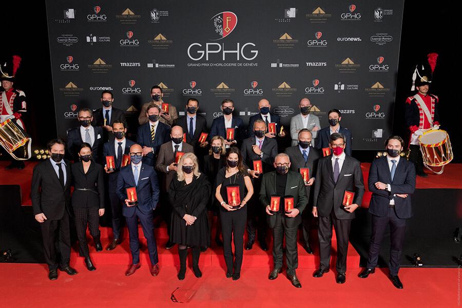 GPHG 2020 Les lauréats au complet sur scène