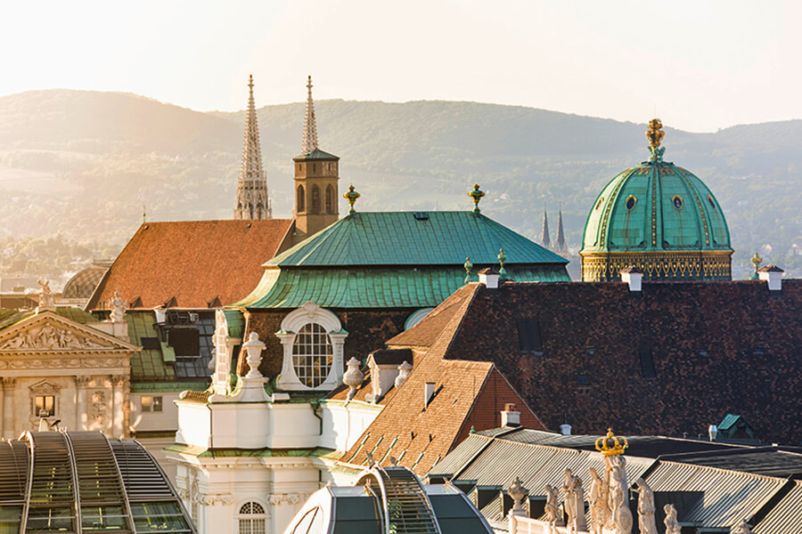 Sur les toits de Vienne (c) Christian Stemper