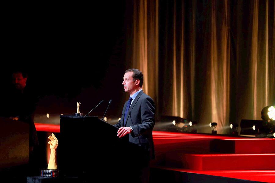 Eric de Rocquigny, Directeur des Opérations et des Métiers de Van Cleef & Arpels, lauréat du Prix de la Montre Métiers d'Art 2020 MiguelBueno