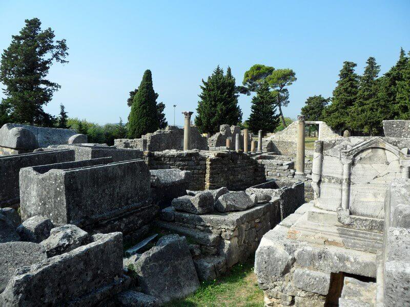 Solin, d'importants vestiges restent témoins de l'ancienne capitale de la Dalmatie © GAD