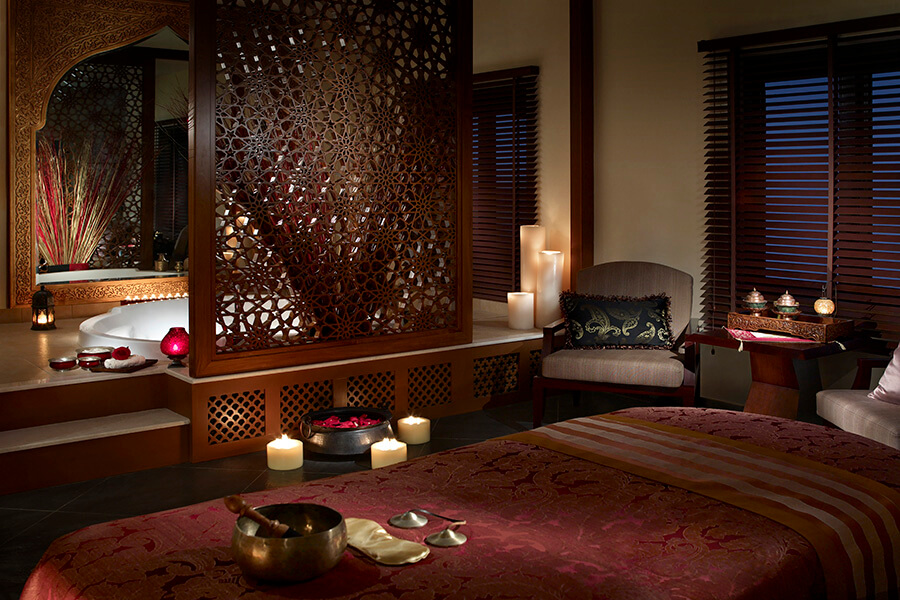 Hôtel Shangri La Chi, le Spa de la villa des soins privés (c) OT Oman
