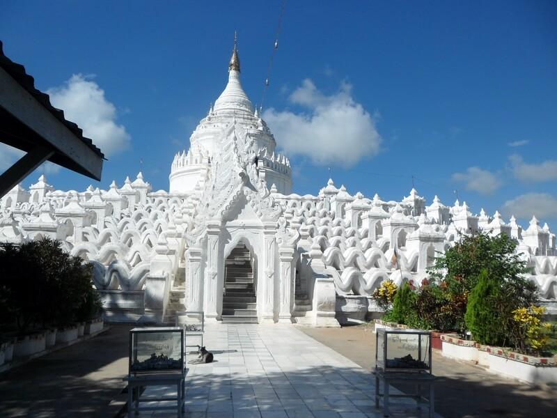 Hsinphyume est le Taj Mahal de Birmanie dédiée à la princesse éponyme (c)GAD