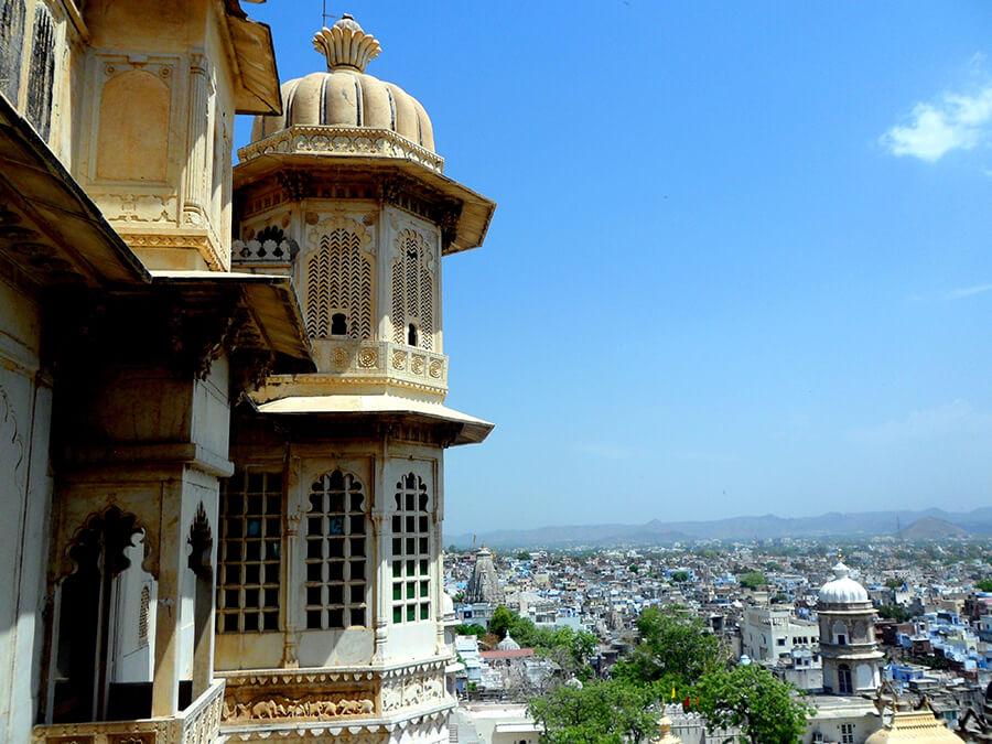 Udaipur City Palace le plus grand Fort du Rajastan