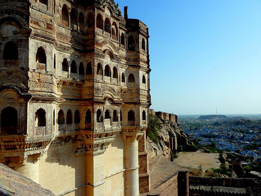 Jodhpur la Cité bleu la couleur des dieux