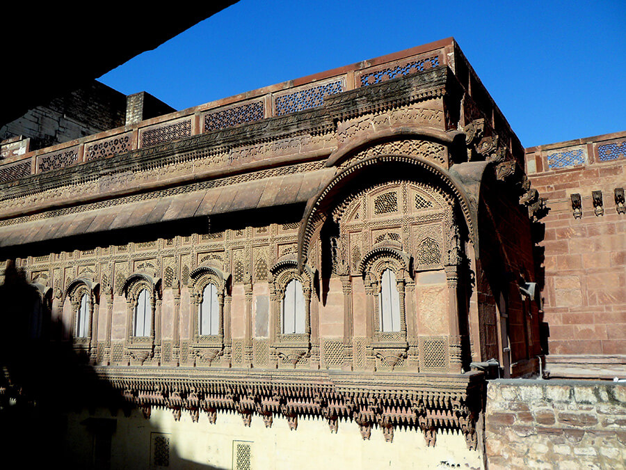 Les édifices de Jodhpur témoignent d'un raffinement et d'un art de vivre spectaculaire