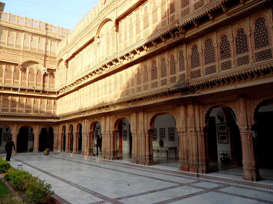Le Palais de Bikaner un magnifique fort bâti au XVIe Siècle