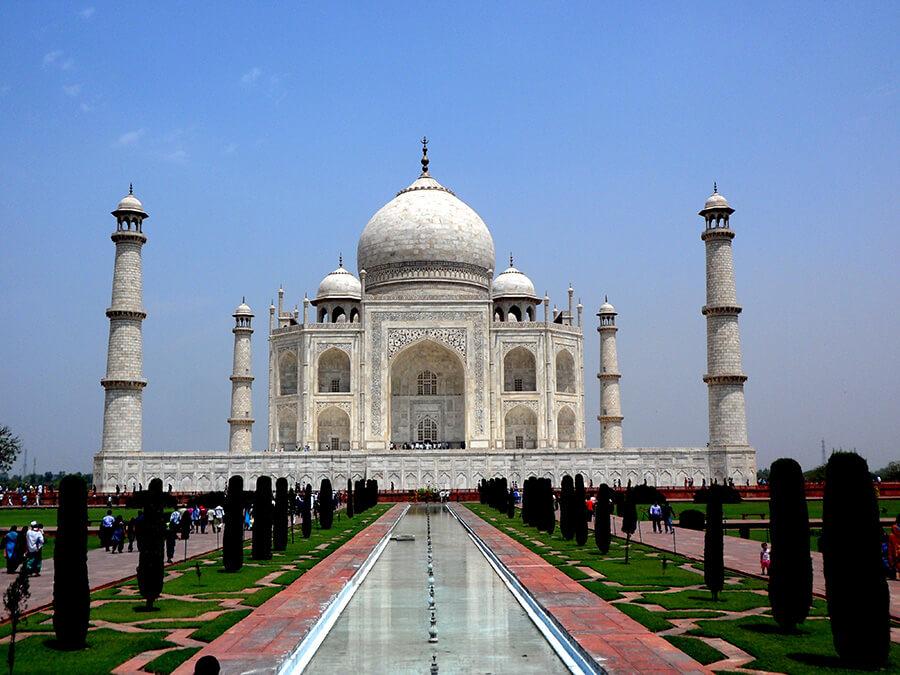 Taj Mahal à Agra le site le plus visité en Inde