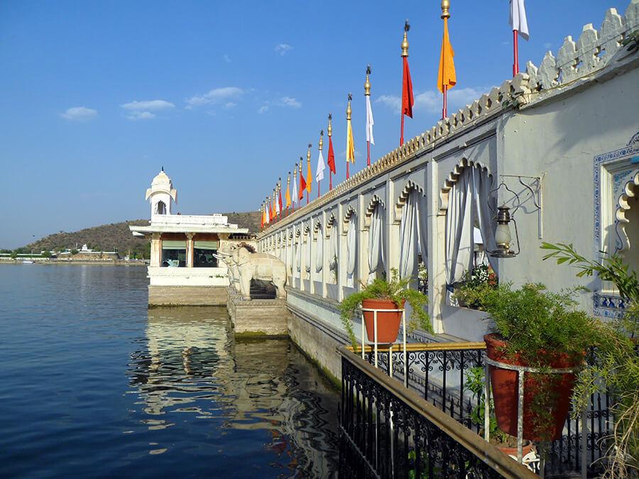 Udaipur Le somptueux hôtel sur le lac