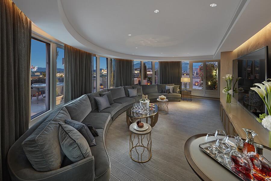 Royal-Penthouse raffinement de l'espace multimédia