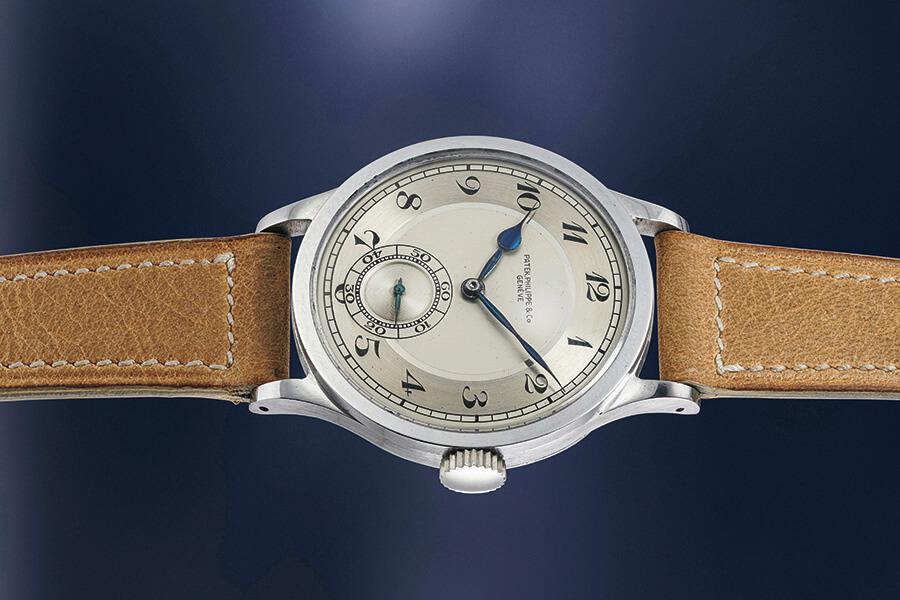 Patek Philippe chronographe en or calendrier perpétuel et phases de lune
