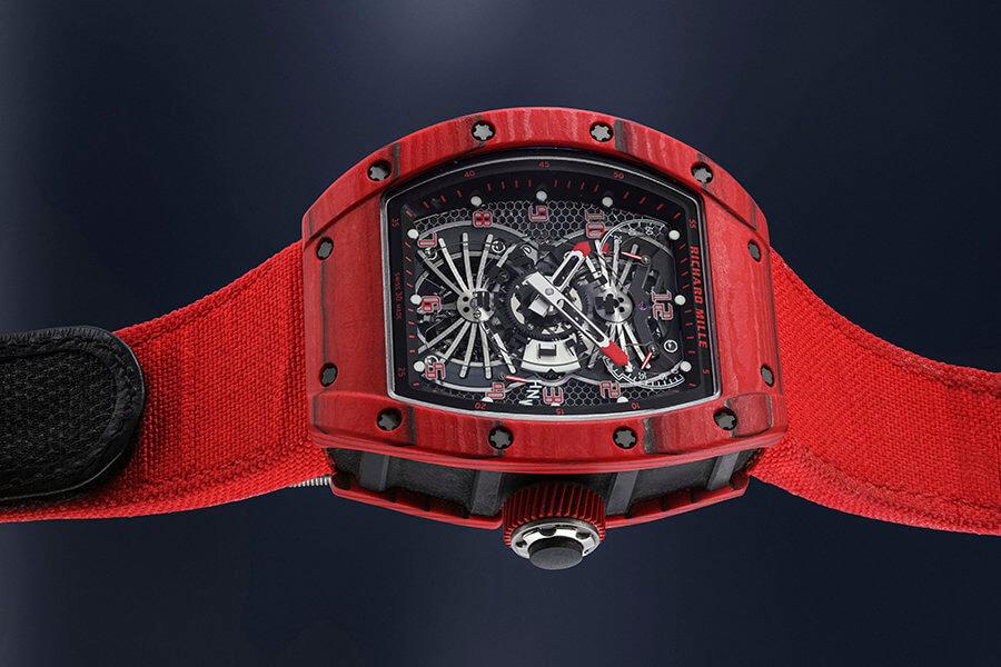 Richard Mille en édition limitée, rarissime montre-bracelet tourbillon et pouvoir de réserve, avec certificat et écrin d'origineLot 31