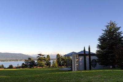 Perspective avec vue sur le lac depuis le Château de Tannay VMT(c) Fabrice Nassisi