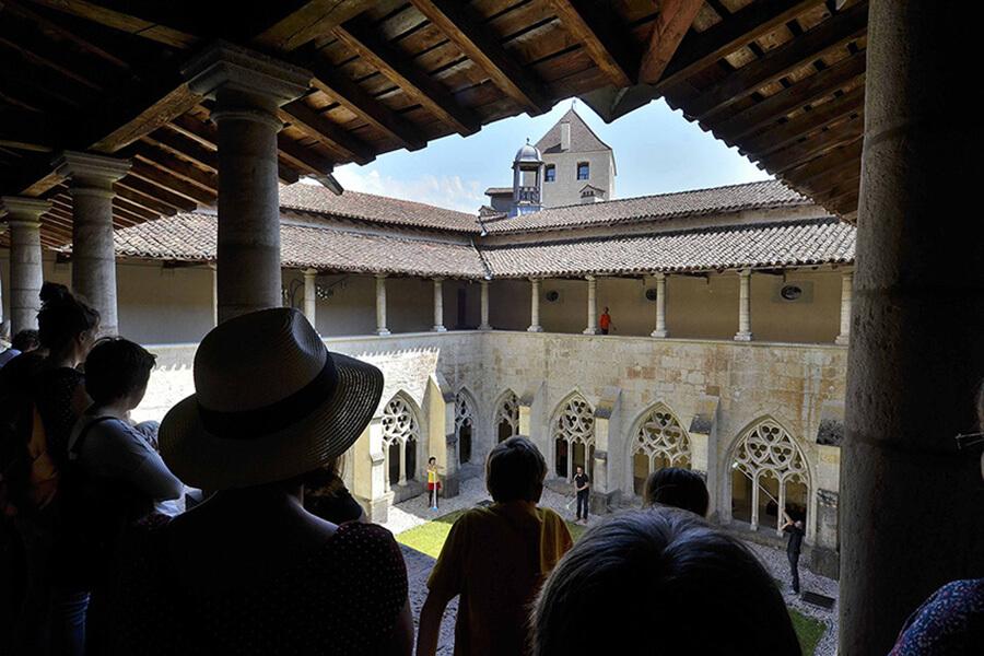 Visite du cloître ©CCRAmbronay-Bertrand Pichène