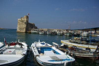 Byblos et son petit port légendaire (c) GAD