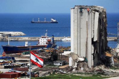 Tristesse Liban 4 août chantier après l'explosion (C)AFP