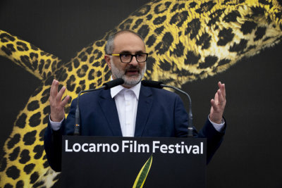 Sur la Piazza Grande Ouverture officielle du 74e Locarno Film Festival par Giona A. Nazzaro © Massimo Pedrazzini