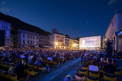 Piazza Grande le rendez-vous incontournable des cinéphiles à Locarno © Massimo Pedrazzini