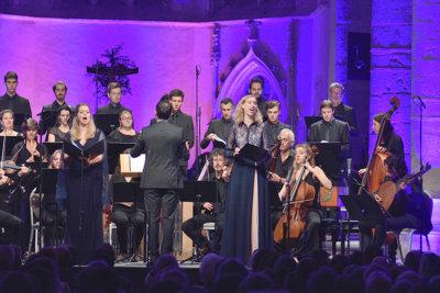 Les Ombres Choeur du Concert Spirituel De Venise à Verssailles ©Bertrand PICHENE-CCR Ambronay